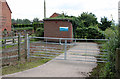 SK8272 : North Clifton sewage pumping station  by Alan Murray-Rust