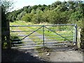SE3340 : Gated track off Wike Ridge Lane by Christine Johnstone