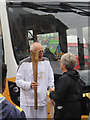 TQ8109 : Torch bearer, Day 60 Olympic Torch Relay by Oast House Archive