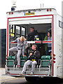TQ8209 : Filming lorry, Day 61 Olympic Torch Relay by Oast House Archive