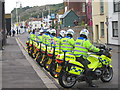 TQ8209 : Police Outriders, Day 61 Olympic Torch Relay by Oast House Archive