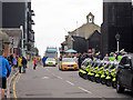 TQ8209 : Rock-a-Nore Road, Day 61 Olympic Torch Relay by Oast House Archive
