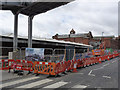 SK5739 : Bridge construction, Station Street by Alan Murray-Rust