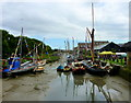 TR0161 : Boats at Faversham Town Quay : Week 30