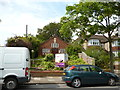 TQ3273 : Tulse Hill:  Church on Lovelace Road by Dr Neil Clifton