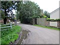 SJ5062 : Entrance to Leadgate Farm by Jeff Buck