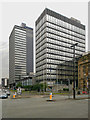 SJ8499 : New Century House and CIS Tower by David Dixon