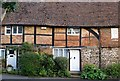 TQ4053 : Timber-framed cottages in Detillens Lane, Limpsfield by Stefan Czapski