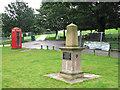 SK5339 : Wollaton Park: US parachutists' memorial by John Sutton