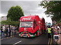 TR0161 : Coca Cola promotional lorry, Day 62 Olympic torch relay, Faversham by David Anstiss