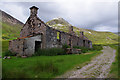 NN1364 : Abandoned cottages at Tigh-na-sleubhaich by Ian Taylor