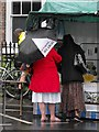 SO2296 : Montgomery Street Fair 2012 - a comment on the weather by Penny Mayes