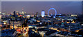 TQ3079 : London Skyline Panorama from New Zealand High Commission by Christine Matthews