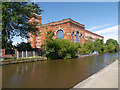SD8901 : Rochdale Canal, Regent Mill by David Dixon