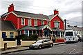 Q8859 : Kilkee - O'Connell Street - Stella Maris Hotel by Joseph Mischyshyn