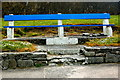 Q8860 : Kilkee - O'Connell Street - Bench  by Joseph Mischyshyn