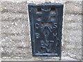 SK2083 : Ordnance Survey  Flush Bracket 637 by Peter Wood