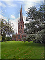 SJ6188 : St Elphin's Parish Church, Warrington by David Dixon
