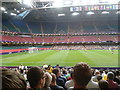 ST1876 : Brazil vs. Egypt men's Olympic football at the Millennium Stadium by Virginia Knight