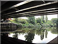 SE3132 : The River Aire at Richmond Bridge by Ian S