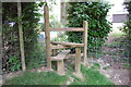 TQ8229 : New Stile on Footpath by Copfield Farm, near Rolvenden by Julian P Guffogg