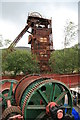 SN7803 : Cefn Coed Colliery Museum - haulage engine by Chris Allen