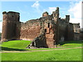 NS6859 : Bothwell Castle by M J Richardson