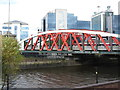 SJ8196 : Trafford Road Swing Bridge by Dave Pickersgill