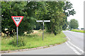 TM1439 : Road Junction on the A137 by roger geach