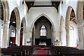 TF4771 : Interior, St Helena's church, Willoughby by J.Hannan-Briggs