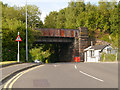 SJ6286 : Wash Lane Railway Bridge by David Dixon