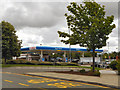 SD8004 : Tesco Petrol Station by David Dixon
