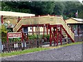 SJ9557 : Rudyard station by Graham Hogg