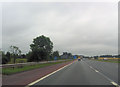 NY4351 : M6 junc 42 from the south by John Firth