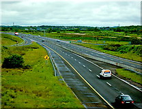 R3675 : Ennis Area - Junction of N85 with M18 - View to North  by Joseph Mischyshyn