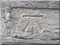 SE2900 : Ordnance Survey Cut Mark by Peter Wood