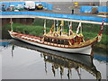 TQ3784 : Gloriana Rowing Barge, Olympic Park by Alex McGregor