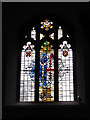 TQ2971 : West window of St Leonard's church by Stephen Craven