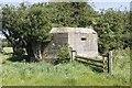 SU2398 : Fence by the pillbox by Bill Nicholls