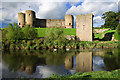 SJ0277 : Rhuddlan Castle - river traffic by Mike Searle