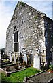 R2791 : The east end of the ruined church at Killinaboy, Co. Clare by P L Chadwick