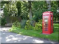 NT6922 : Telephone kiosk and postbox at Crailinghall by Oliver Dixon