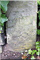 SE1140 : Benchmark on gatepost at Parkside entrance to Prince of Wales Park by Roger Templeman