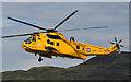 NM9034 : RAF Sea King at Oban Airport by TheTurfBurner