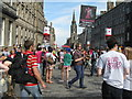 NT2573 : Edinburgh Festival Fringe by M J Richardson