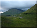 NN3233 : Valley of the Allt Coire Chailein by Karl and Ali