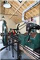 ST6416 : Sherborne Steam and Water Wheel Centre - steam engine by Chris Allen