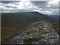 NN4881 : On top of Creag Pitridh (924m) by Karl and Ali
