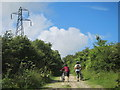 TQ3811 : South Downs Way to Mount Harry by Oast House Archive