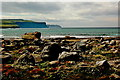 R0597 : Doolin - R479 - Harbour - Distant View of Cliffs of Moher by Joseph Mischyshyn